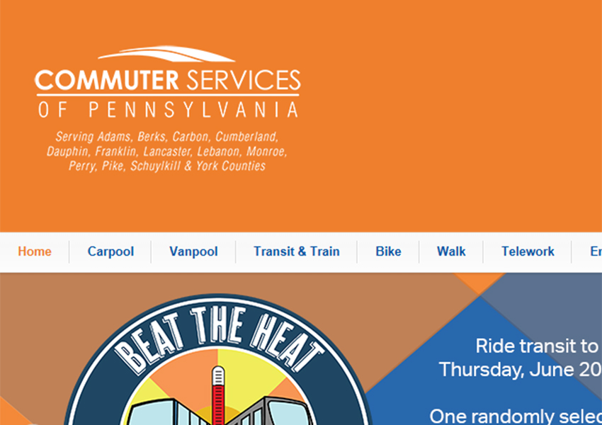 pa commuter services screen shot