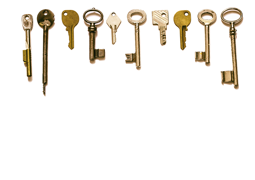 variety of keys image